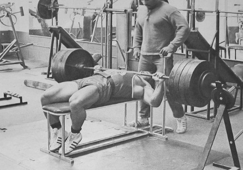 franco columbu paused bench press