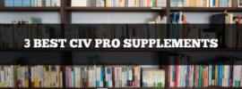 3 best civil procedure supplements