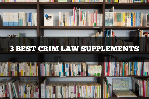 3 best criminal law supplements