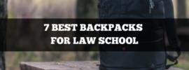7 best backpacks for law school