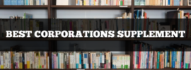 best corporations supplement (business associations made easy)