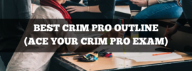 best criminal procedure outline