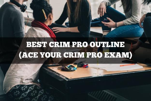 best criminal procedure outline