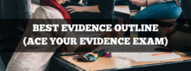 best evidence outline