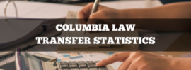 Columbia Law transfer statistics