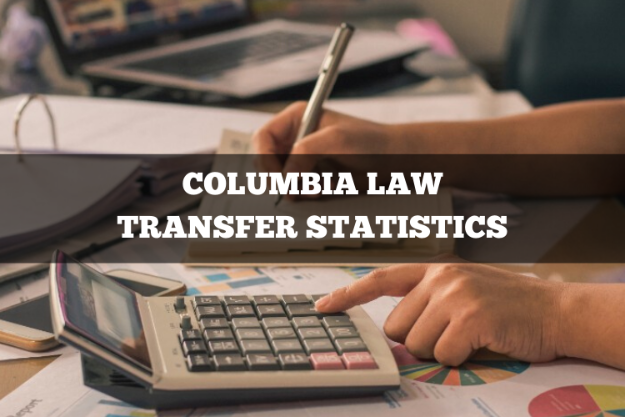 Columbia Law transfer statistics