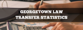 Georgetown Law transfer statistics