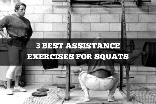 3 best assistance exercises for squats