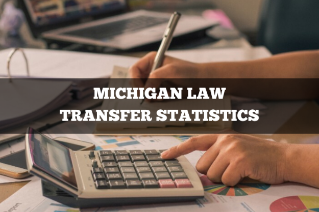michigan law transfer statistics