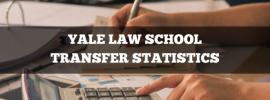Yale Law School transfer statistics