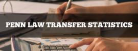 Penn Law transfer statistics